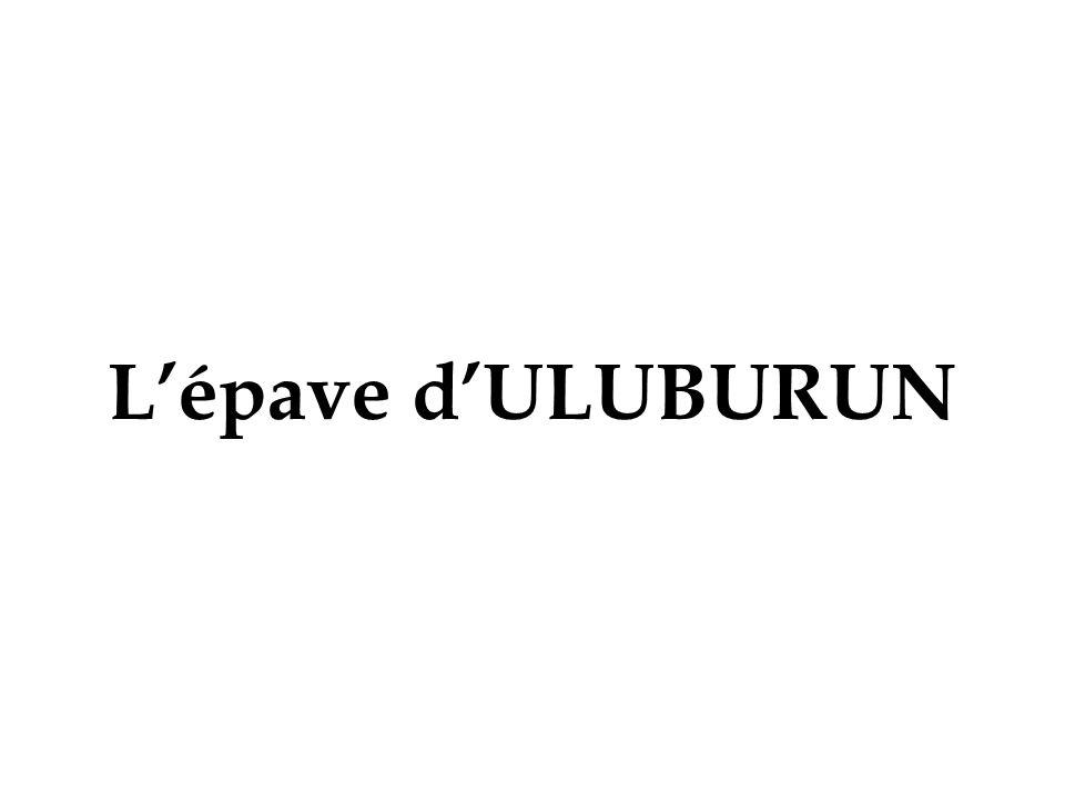 L'épave d'ULUBURUN
