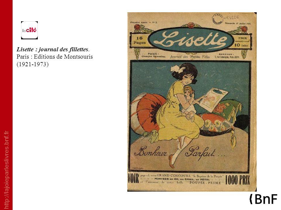 Lisette : journal des fillettes