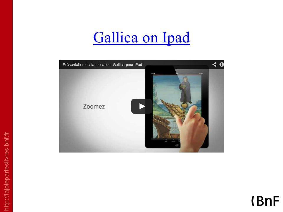 Gallica on Ipad