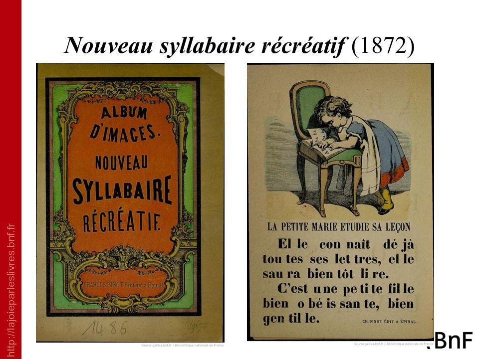 Nouveau syllabaire récréatif (1872)