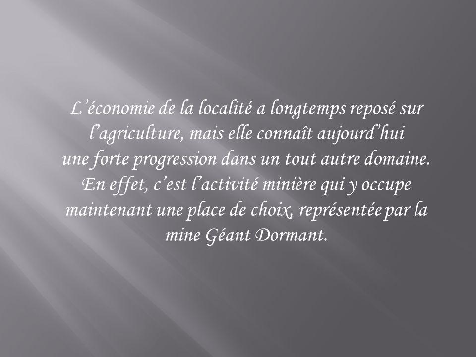 maintenant une place de choix, représentée par la mine Géant Dormant.