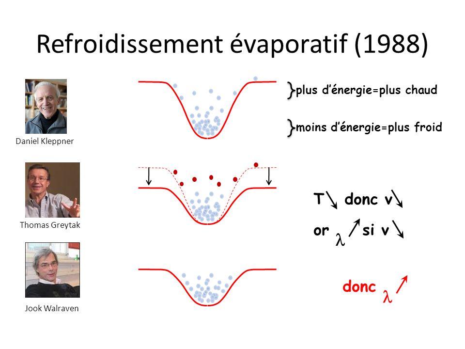Refroidissement évaporatif (1988)