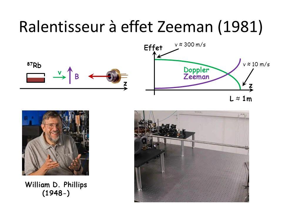 Ralentisseur à effet Zeeman (1981)