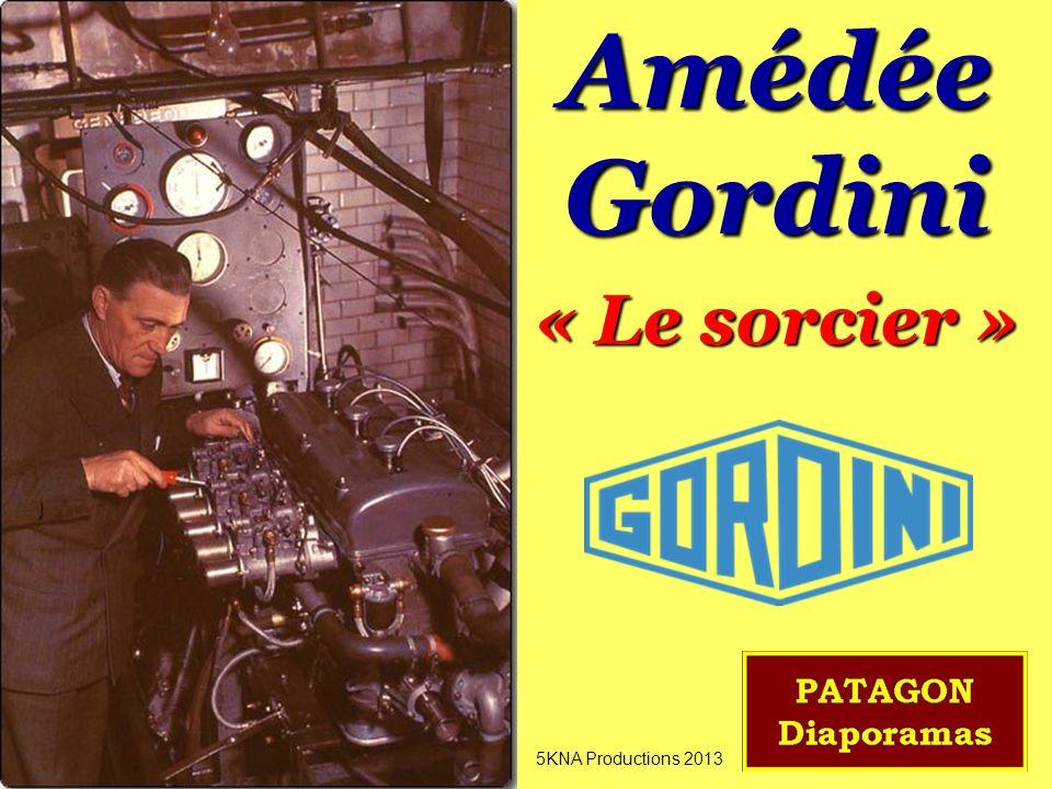 Amédée Gordini « Le sorcier » 5KNA Productions 2013