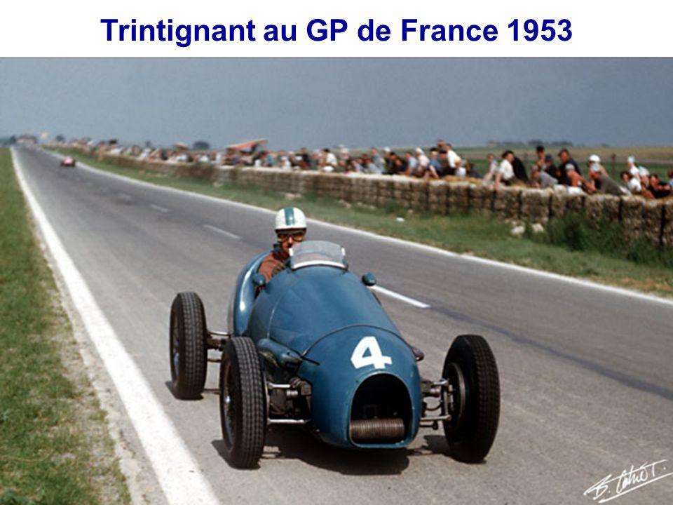 Trintignant au GP de France 1953