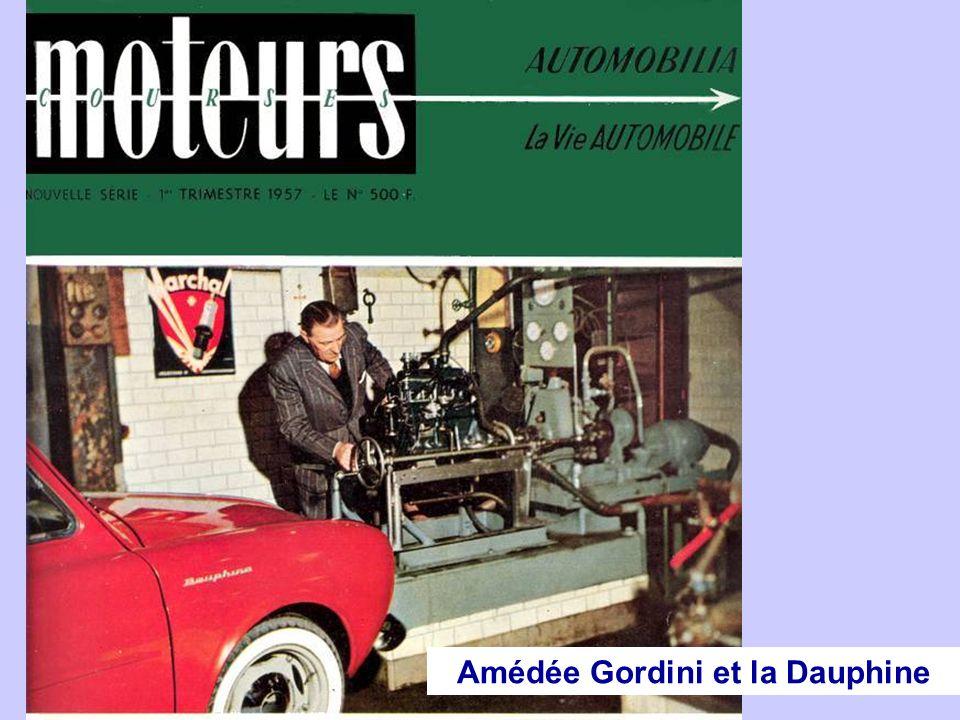 Amédée Gordini et la Dauphine