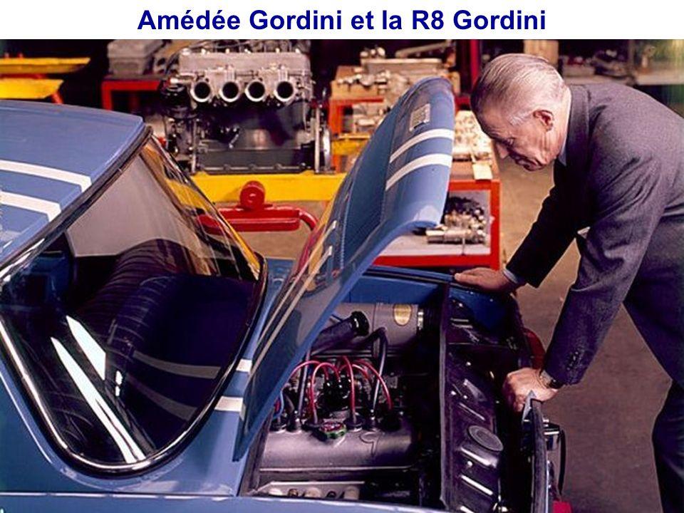 Amédée Gordini et la R8 Gordini