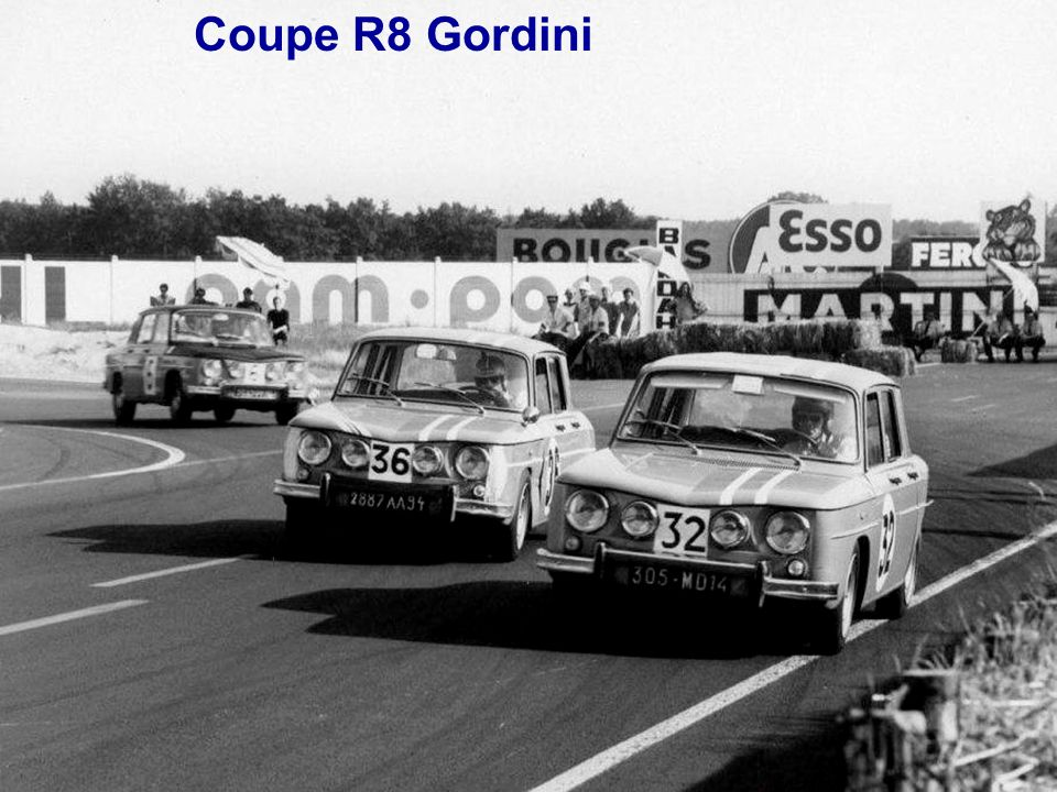 Coupe R8 Gordini