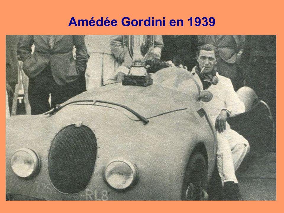 Amédée Gordini en 1939