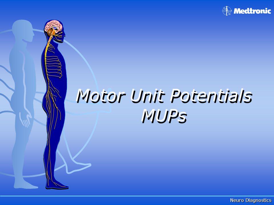 Neuro Diagnostics Motor Unit Potentials MUPs