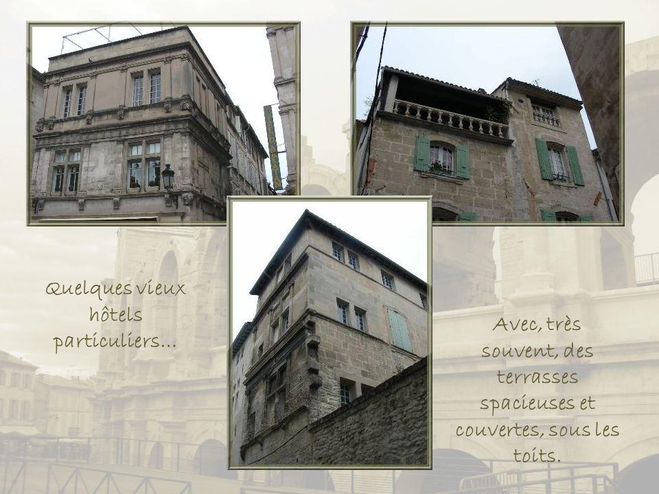 Quelques vieux hôtels particuliers…