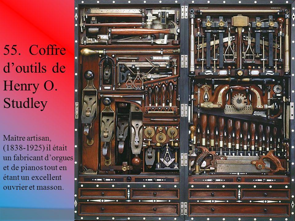 55. Coffre d'outils de Henry O. Studley