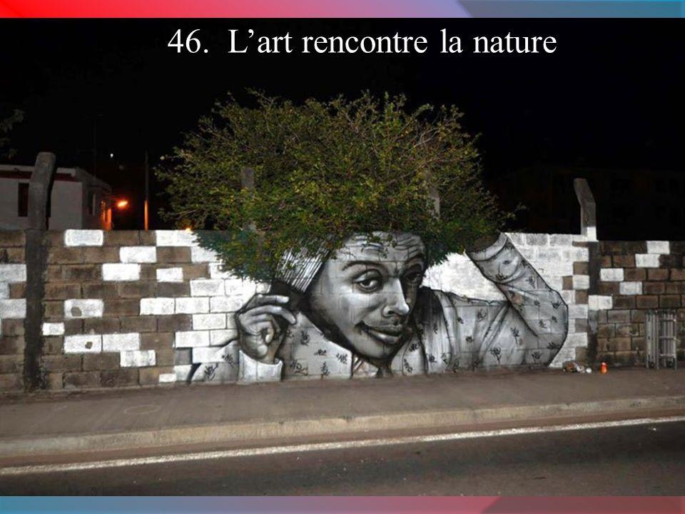 46. L'art rencontre la nature