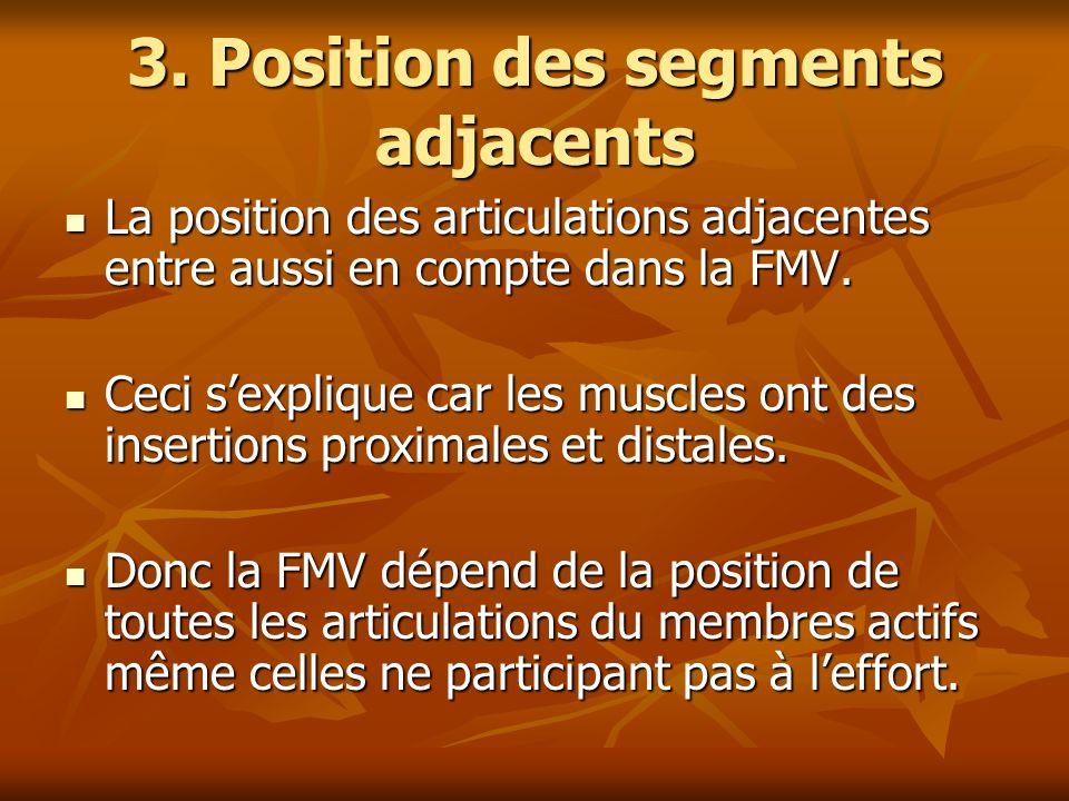 3. Position des segments adjacents