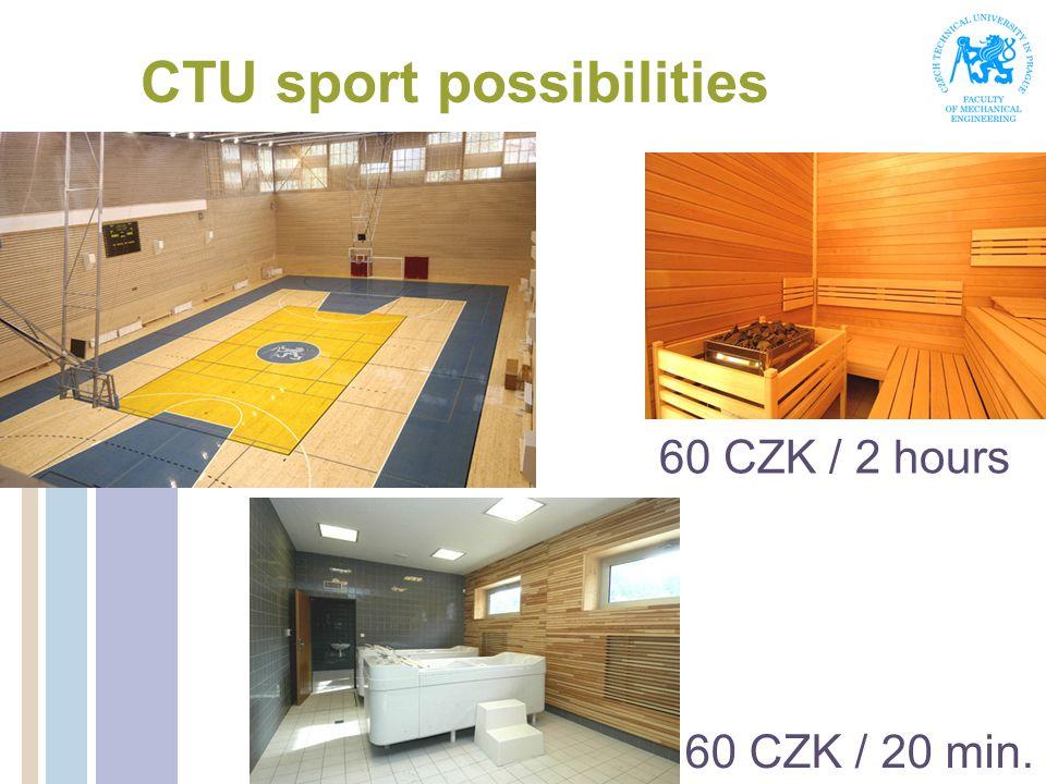 CTU sport possibilities