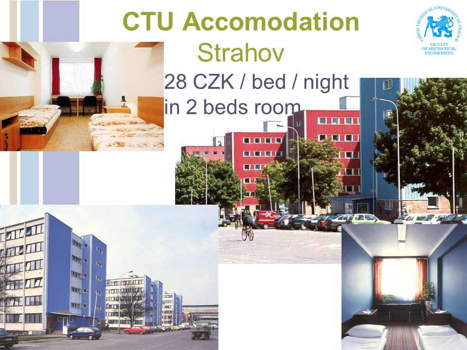 CTU Accomodation Strahov