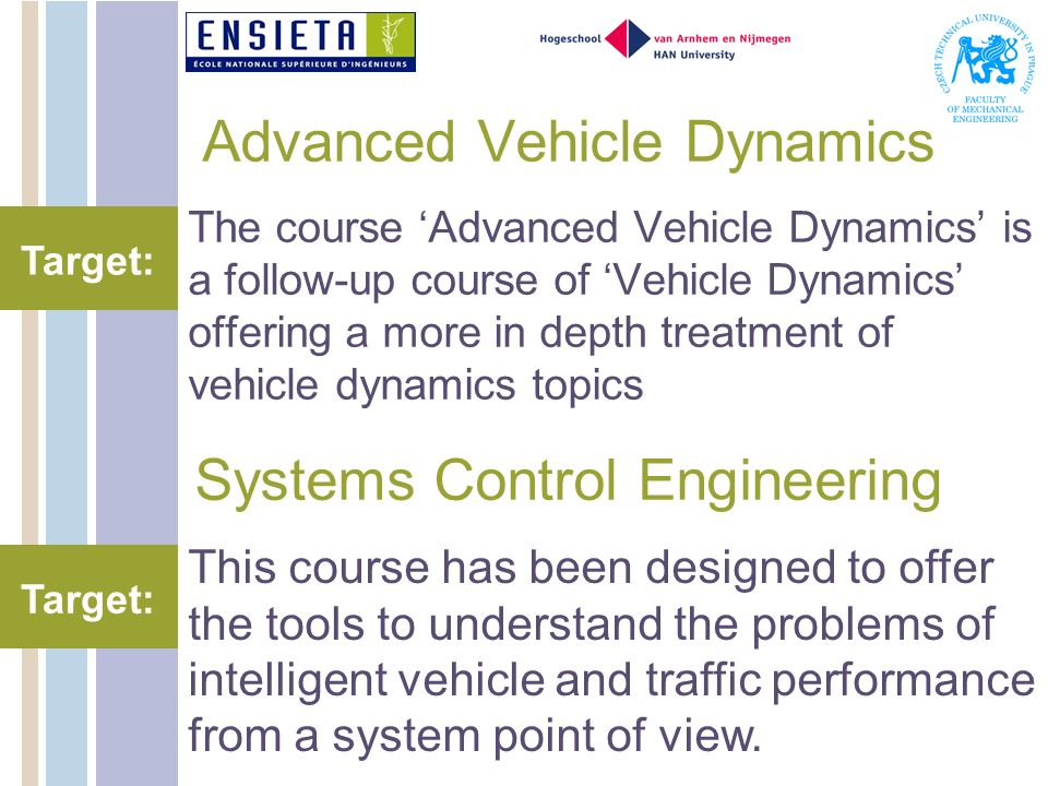 Advanced Vehicle Dynamics