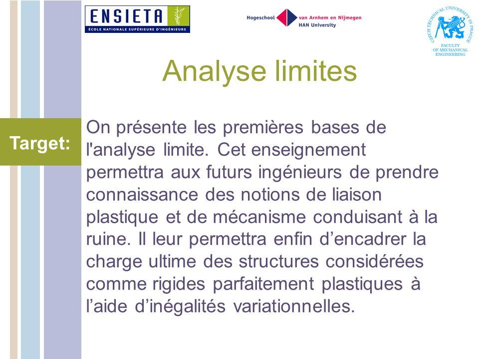 Analyse limites