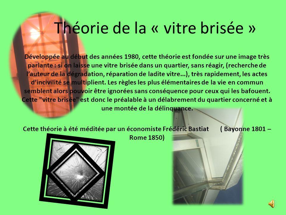 Théorie de la « vitre brisée »