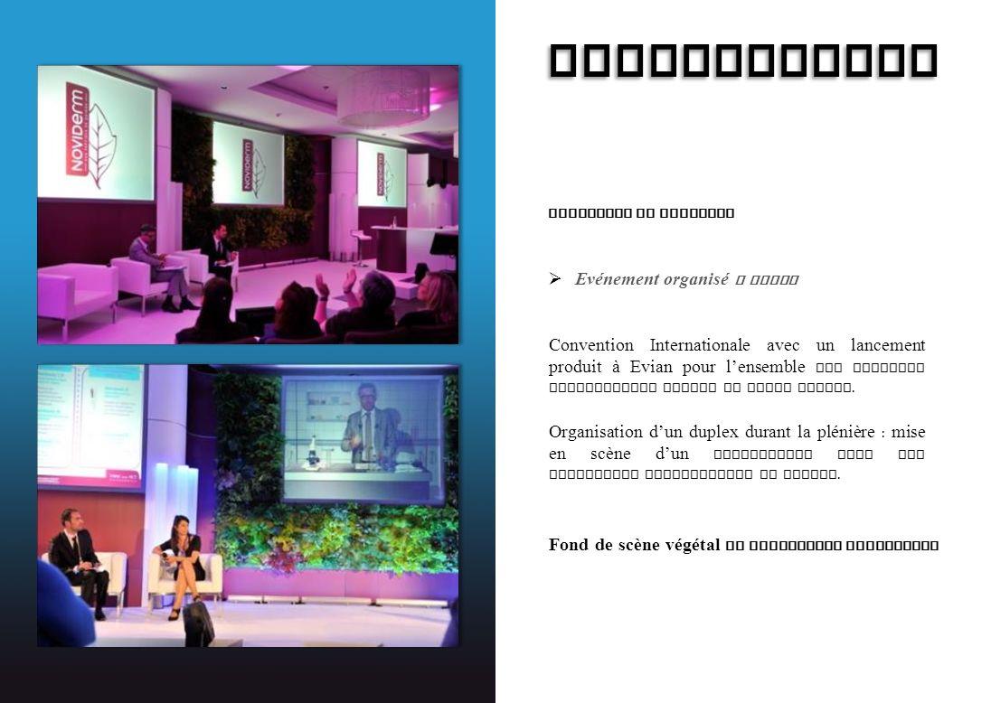 EXPANSCIENCE Lancement de Produits Evénement organisé a Evian