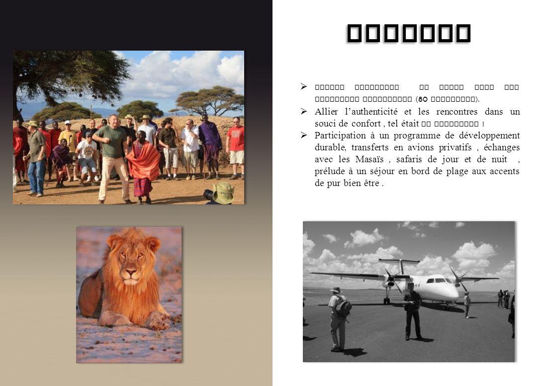 AIRWELL Voyage Incentive au Kenya pour les meilleurs revendeurs (80 personnes).