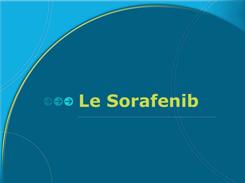 Le Sorafenib