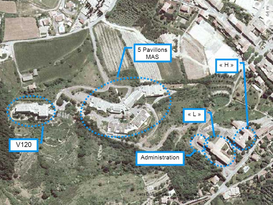 V120 5 Pavillons MAS « H » « L » Administration