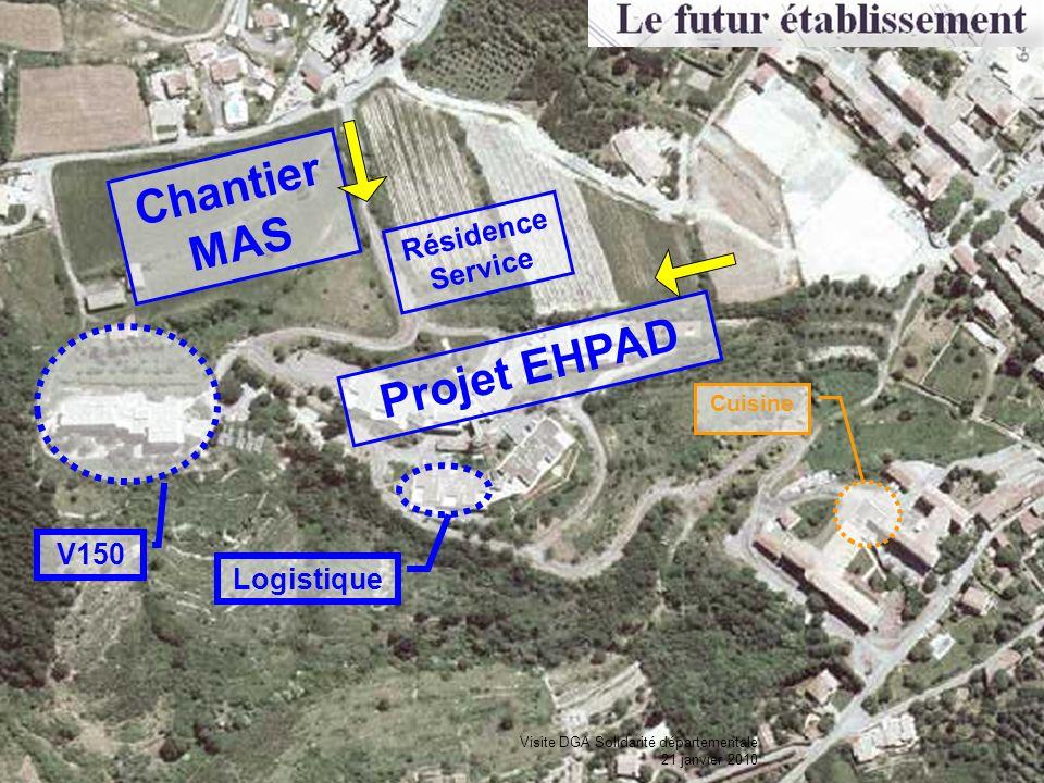 Chantier MAS Projet EHPAD