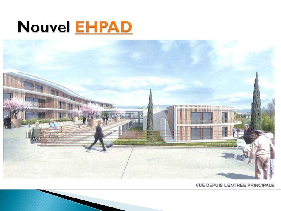Nouvel EHPAD 112 lits d'EHPAD