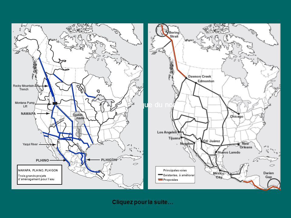 en Amérique du nord Cliquez pour la suite… NAWAPA, PLHINO, PLHIGON
