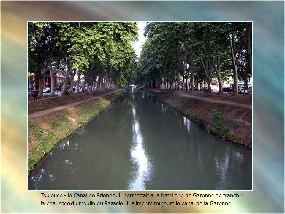 Toulouse - le Canal de Brienne