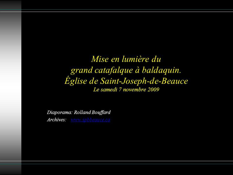 Diaporama: Rolland Bouffard Archives: www.spbbeauce.ca