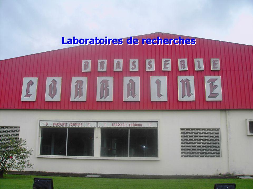 Laboratoires de recherches