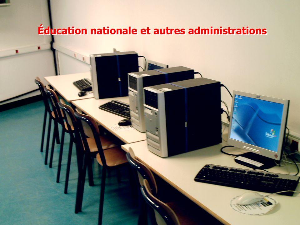 Éducation nationale et autres administrations