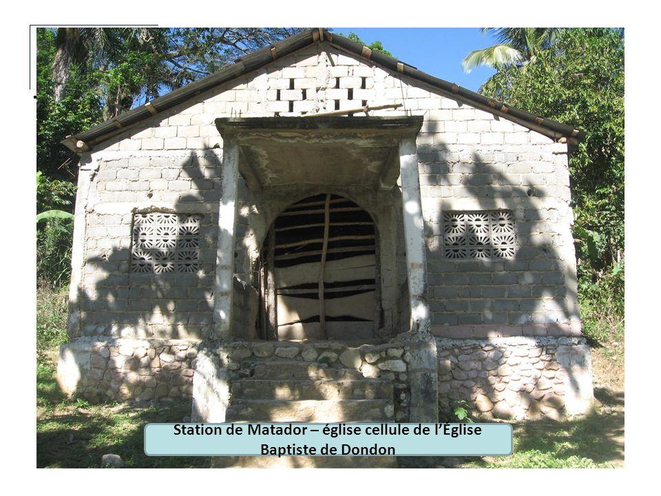 Station de Matador – église cellule de l'Église Baptiste de Dondon