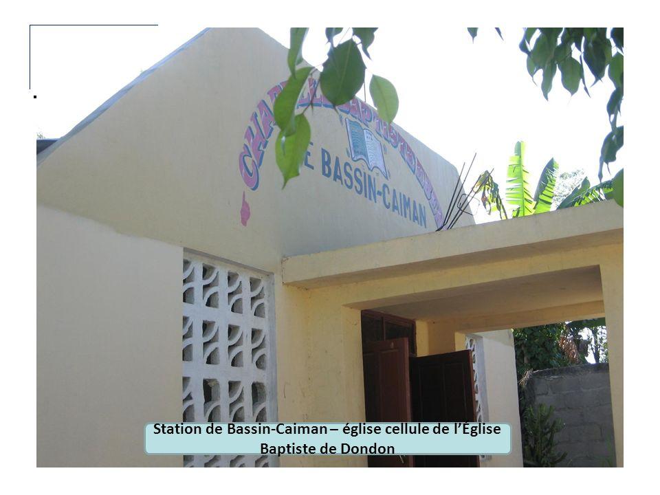 Station de Bassin-Caiman – église cellule de l'Église Baptiste de Dondon