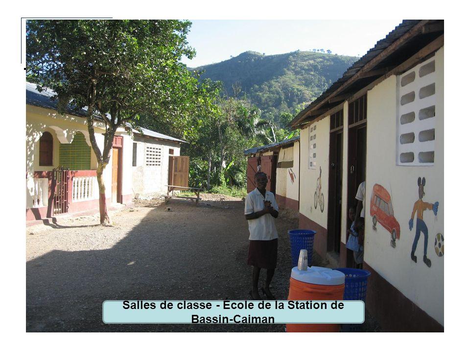 Salles de classe - École de la Station de