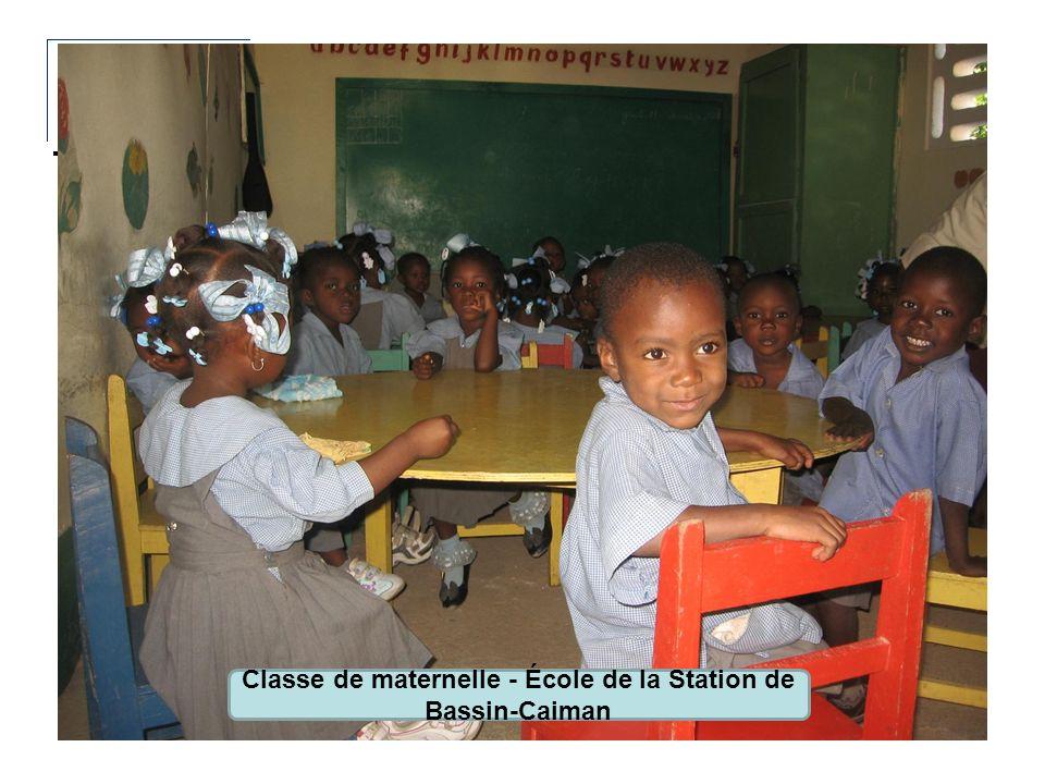 Classe de maternelle - École de la Station de