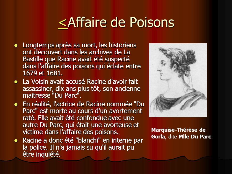 <Affaire de Poisons