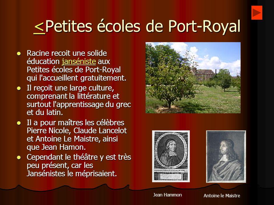 <Petites écoles de Port-Royal