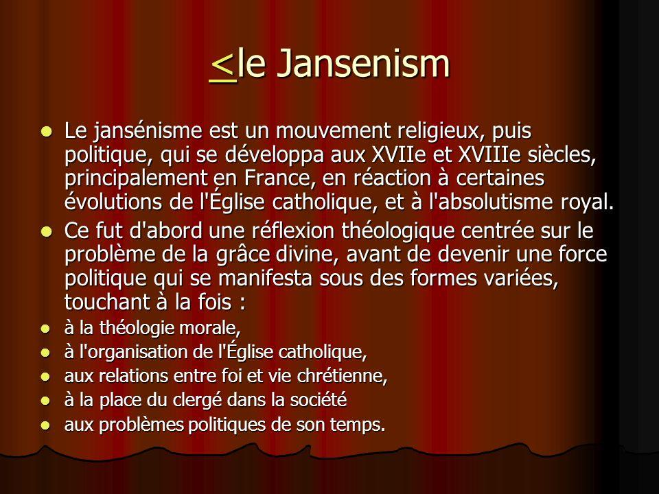 <le Jansenism