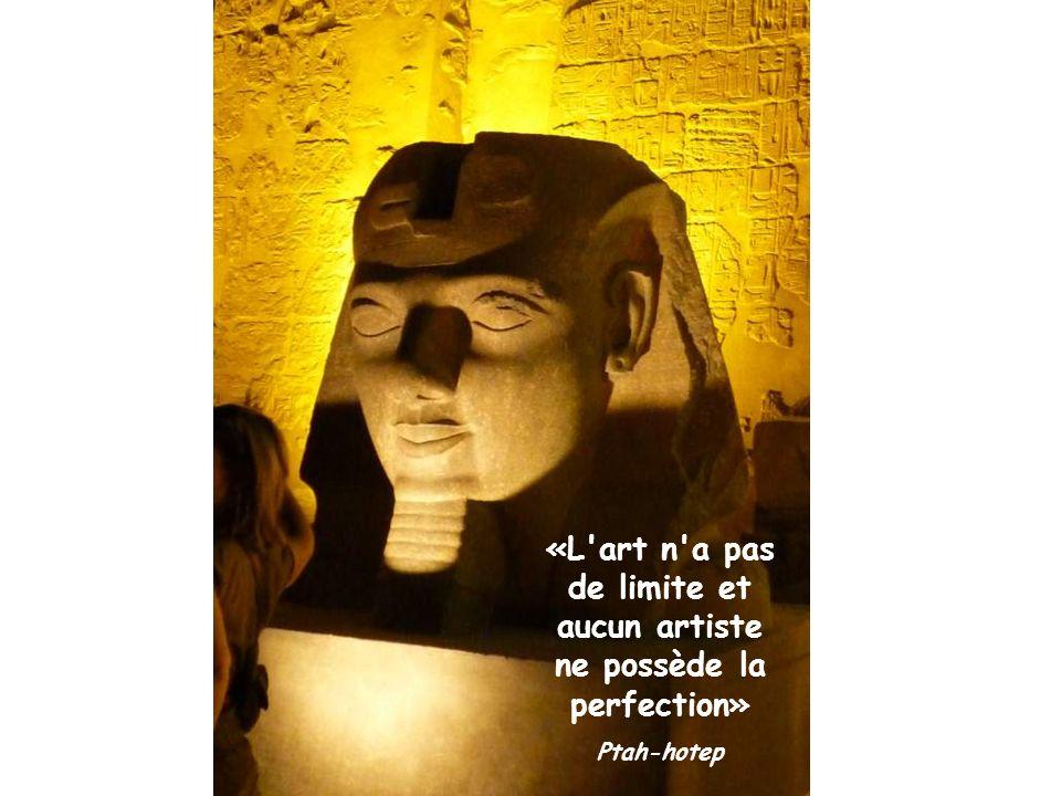 «L art n a pas de limite et aucun artiste ne possède la perfection»