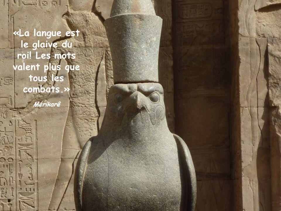 «La langue est le glaive du roi