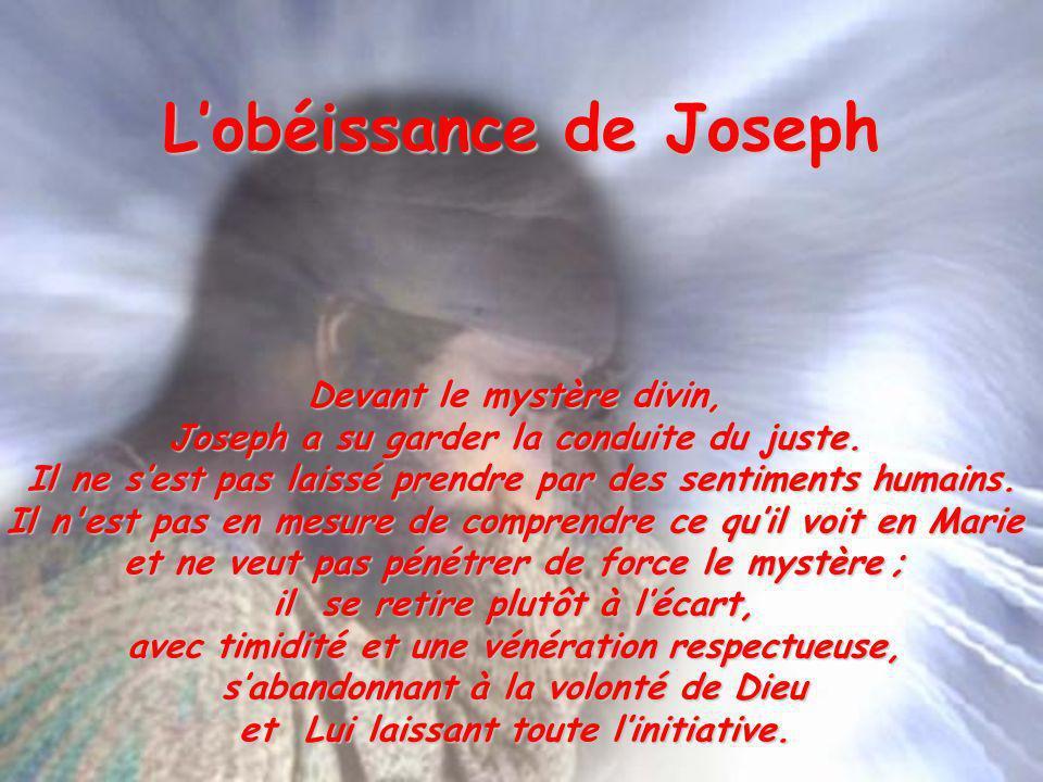 L'obéissance de Joseph