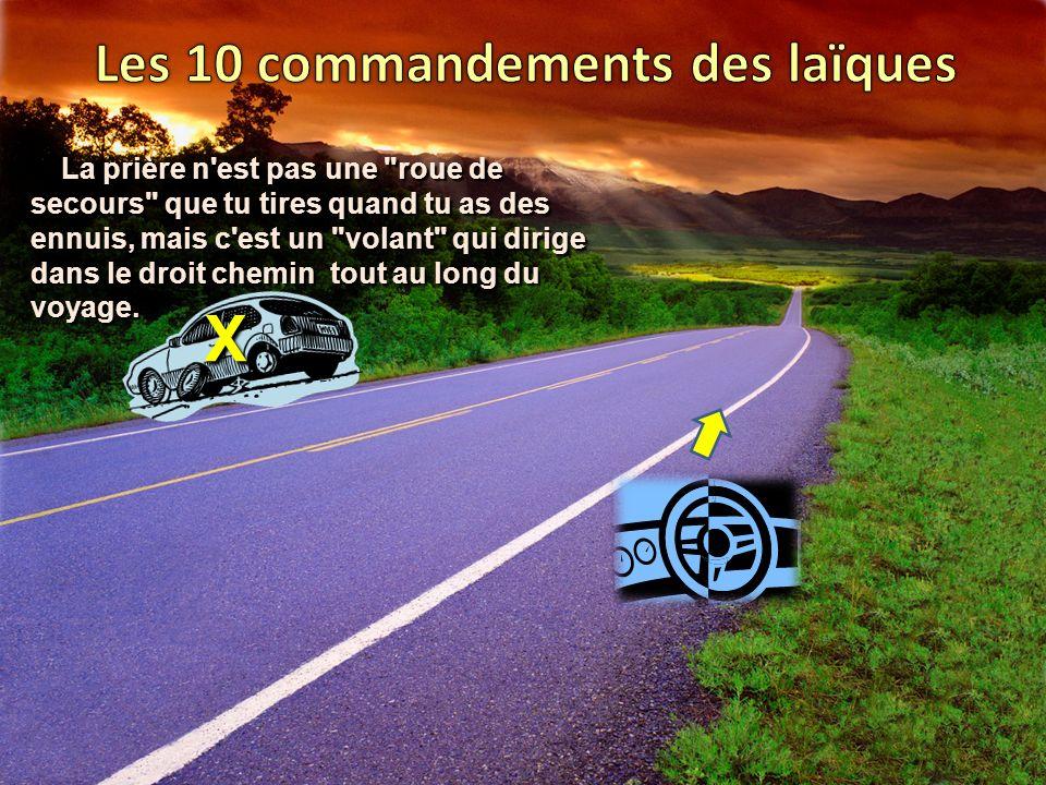 Les 10 commandements des laïques