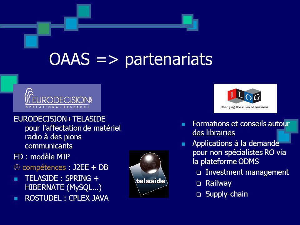 OAAS => partenariats