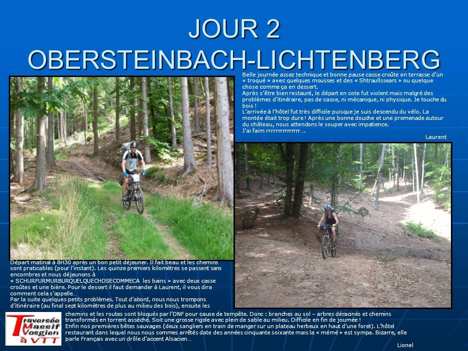 JOUR 2 OBERSTEINBACH-LICHTENBERG