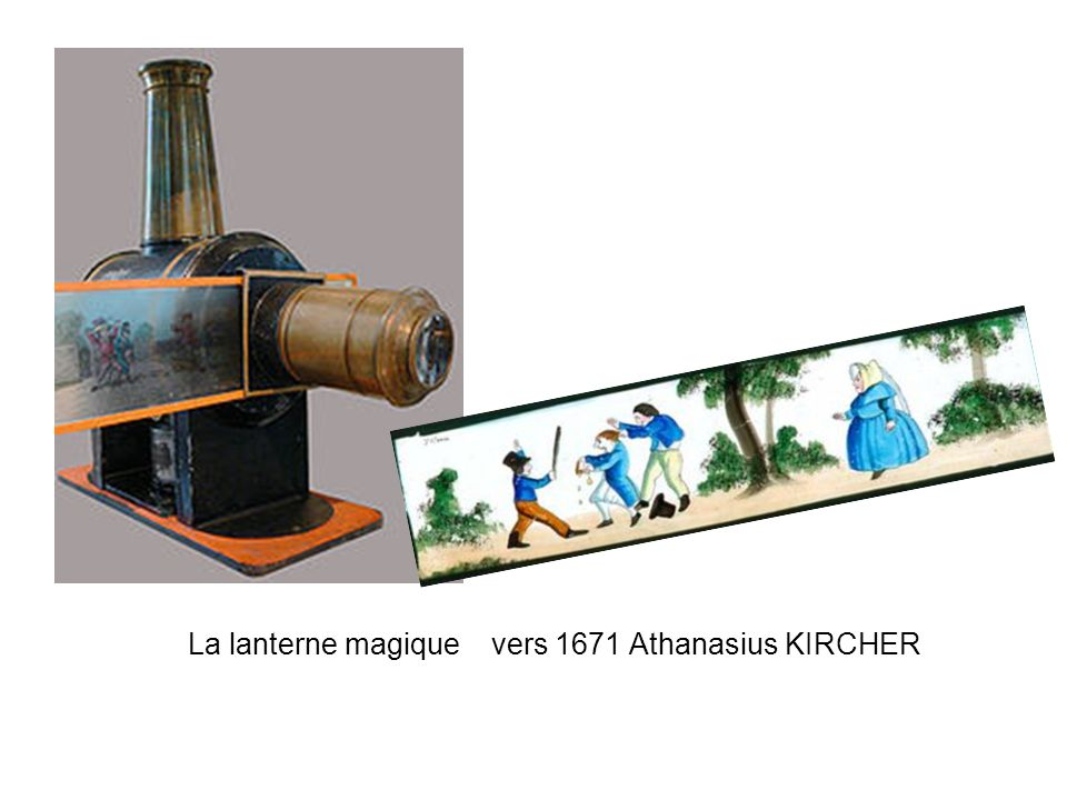 La lanterne magique vers 1671 Athanasius KIRCHER