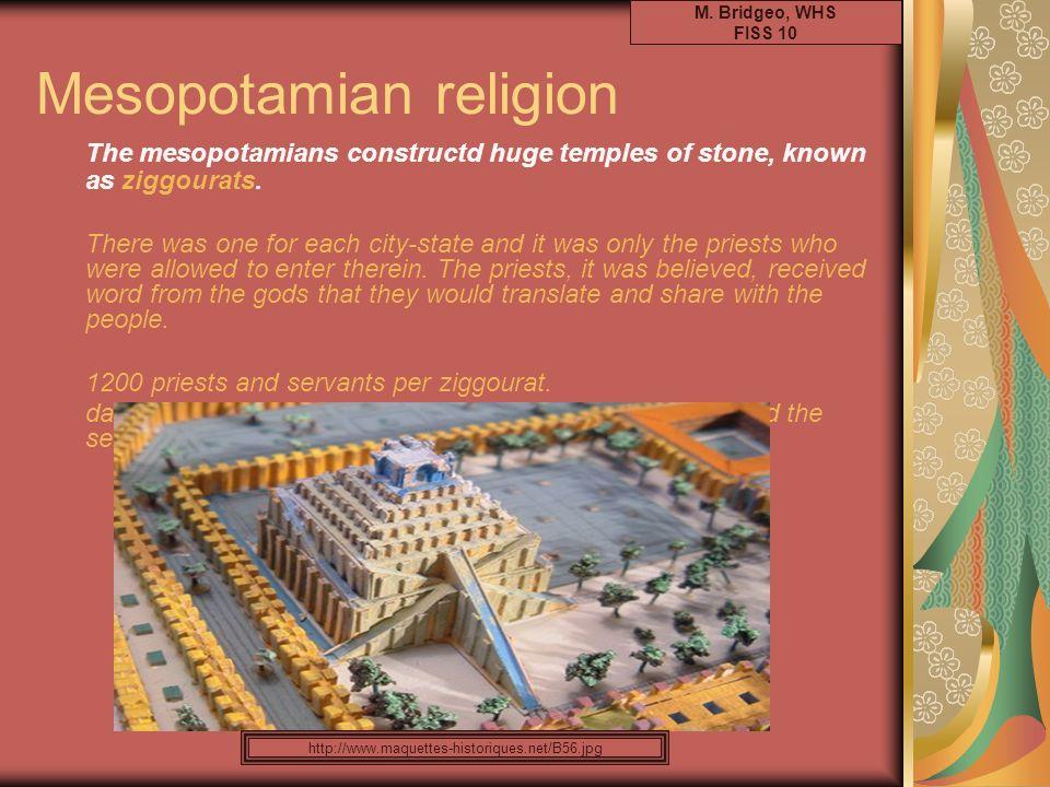 Mesopotamian religion