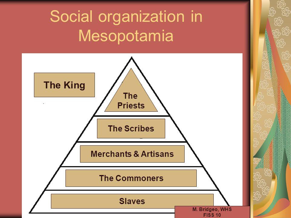 Social organization in Mesopotamia